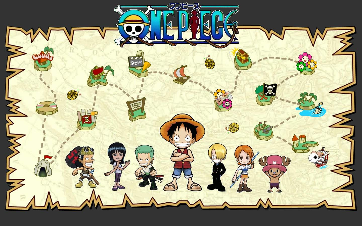 Best One Piece Wallpaper 2013 Images