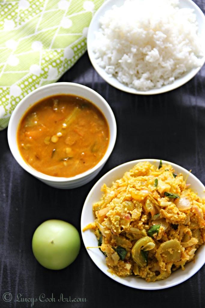 Pacha Thakkali Aviyal