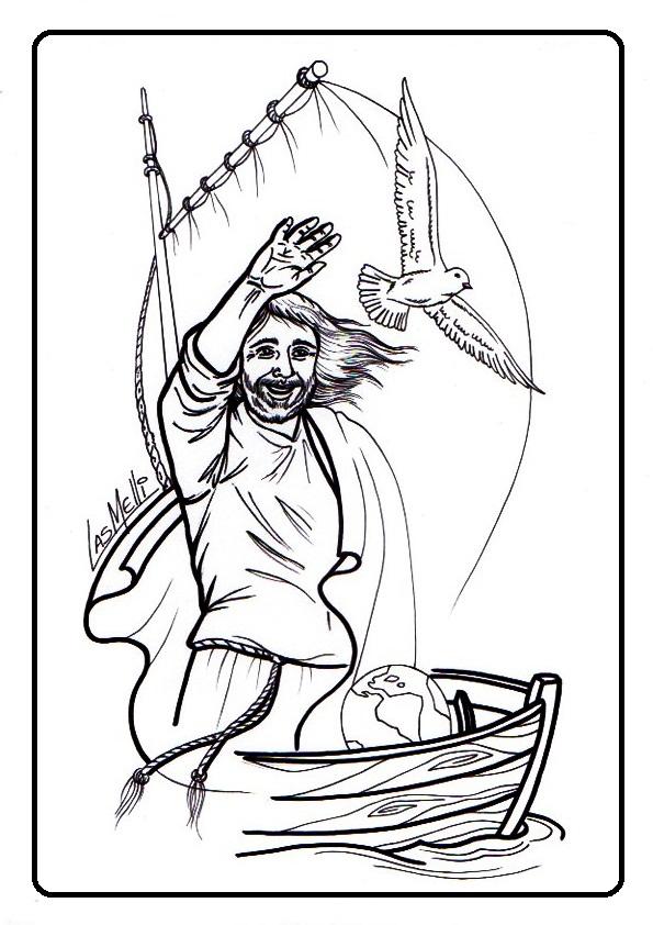 El Rincón de las Melli: DIBUJO: Pescador de hombres