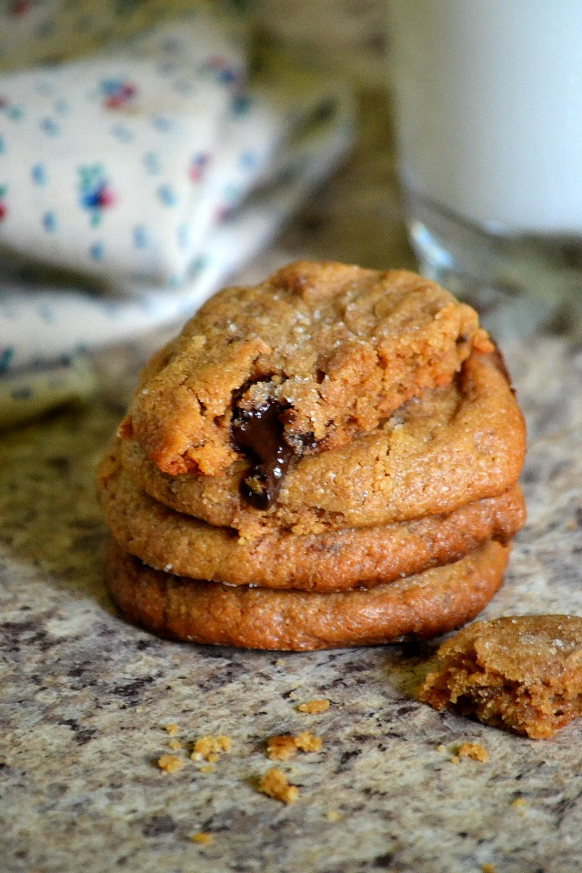 Easy Peasy One Bowl Peanut Butter Chocolate Chunk Cookies ...