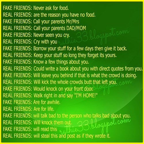 Fake Friends Quotes N Pics : Real and fake friends quotes about quotesgram