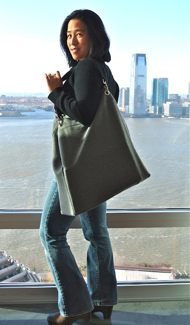 Giant Grey Tote