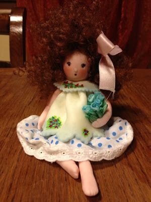 bambole di pasta di mais