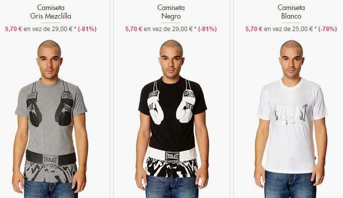 Ejemplos de camisetas en color gris, negro o blanco