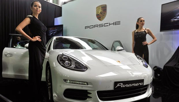 Porsche sales in Asia Pacific