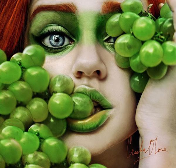 Cristina Otero - foto e frutta