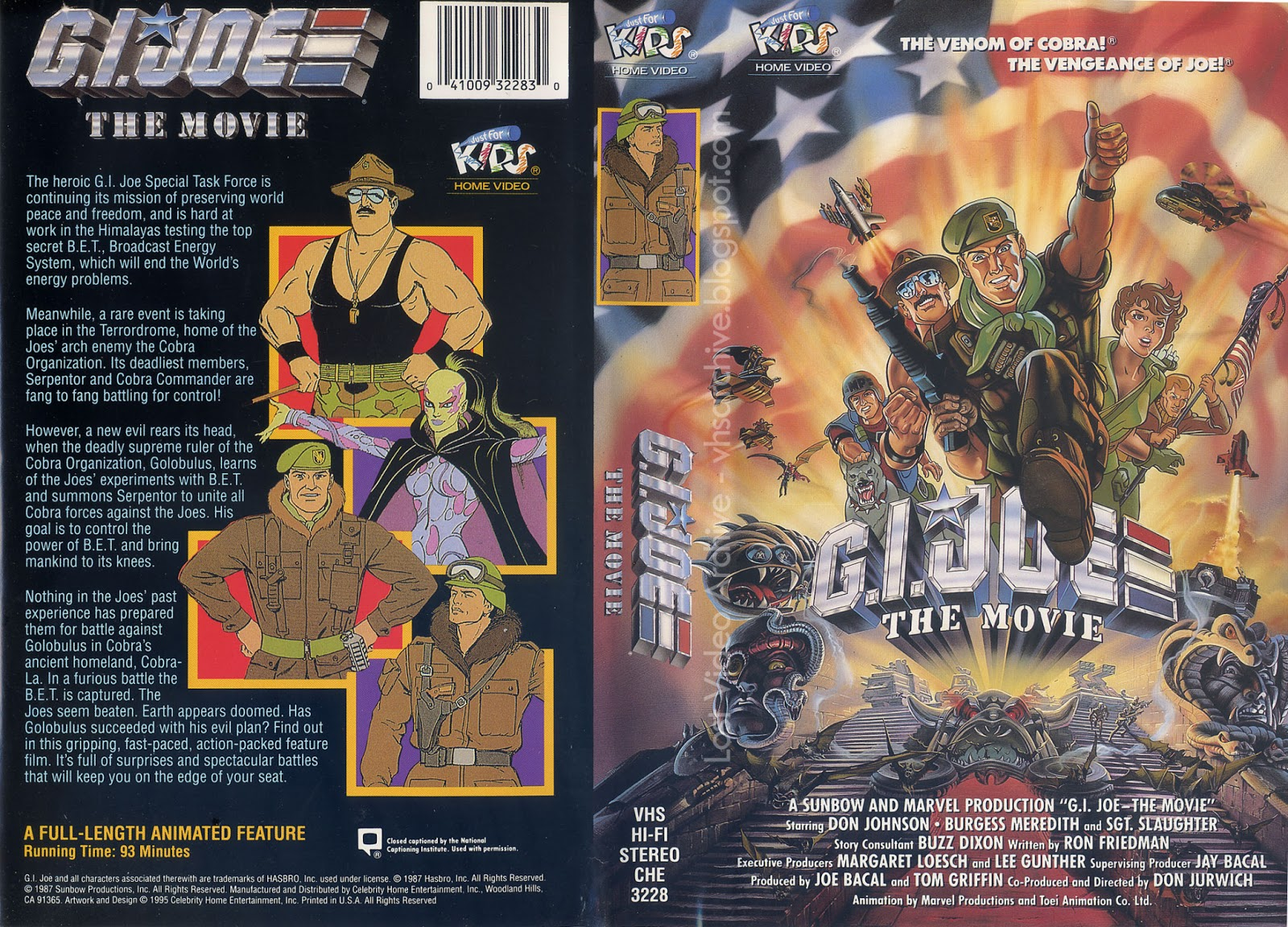 lost video archive gi joe the movie