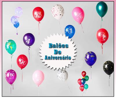 Balões e bexigas para fotomontagem