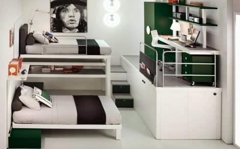 Cara menata kamar tidur sempit untuk anak laki laki