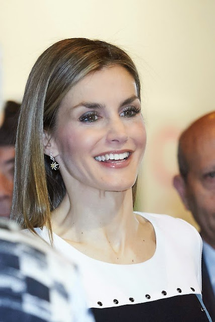 King Felipe and Queen Letizia attends the opening of ARCO 2015