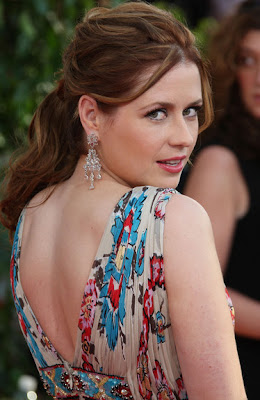 Jenna Fischer Sterling Chandelier Earrings