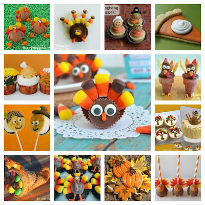 20 of the Best Thanksgiving Fun Food Desserts for Kids
