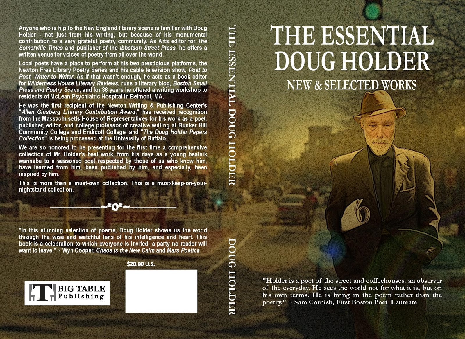 """The Essential Doug Holder: New and Selected poems."""