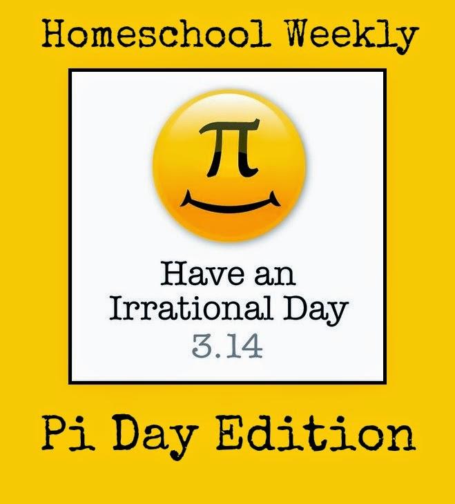 Homeschool Weekly: Pi Day @ kympossibleblog.blogspot.com
