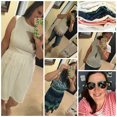 Stitch Fix Review, Ivy + Blu Joy Eyelet Dress, Crescent Murrey Embroidered Hem Top, Maggy London Archie Dress, Papermoon Leon Knit Top, Papermoon Janessa Lace Detail Knit Top, Personal Stylist