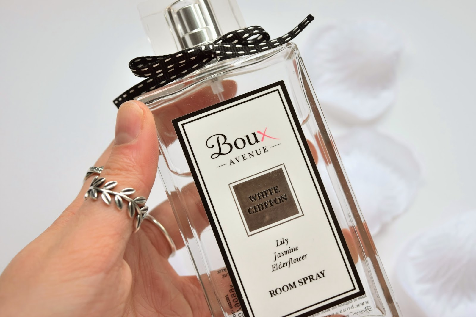 Boux Avenue, Room Spray, Review, White Chiffon