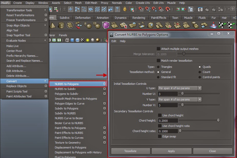 Polygon Modeling Intro in Maya 06
