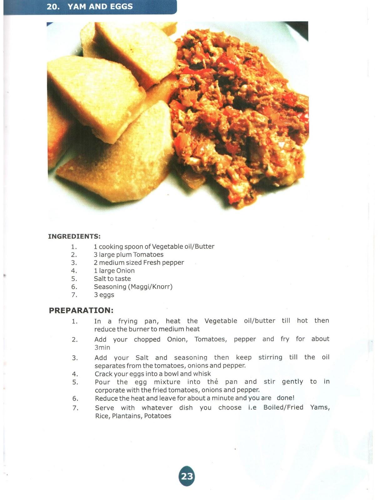 Dobbys signature nigerian food blog i nigerian food recipes i dobbys signature recipe featured in funtuna eggs cook book forumfinder Images