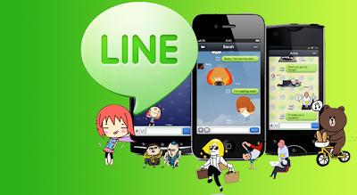 Line, mensajería instantánea gratuita