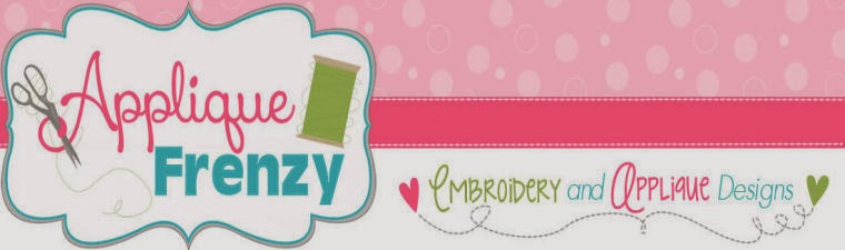 Applique Frenzy Blog