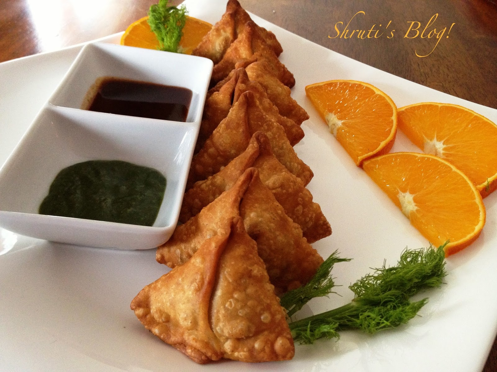 Shruti's Blog: Swatantrata Samosa