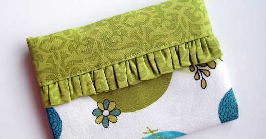 Crochet Flowers Tutorial By Carmen Heffernan : Diva Tube: [DIY] Snappy Mini Fabric Bag