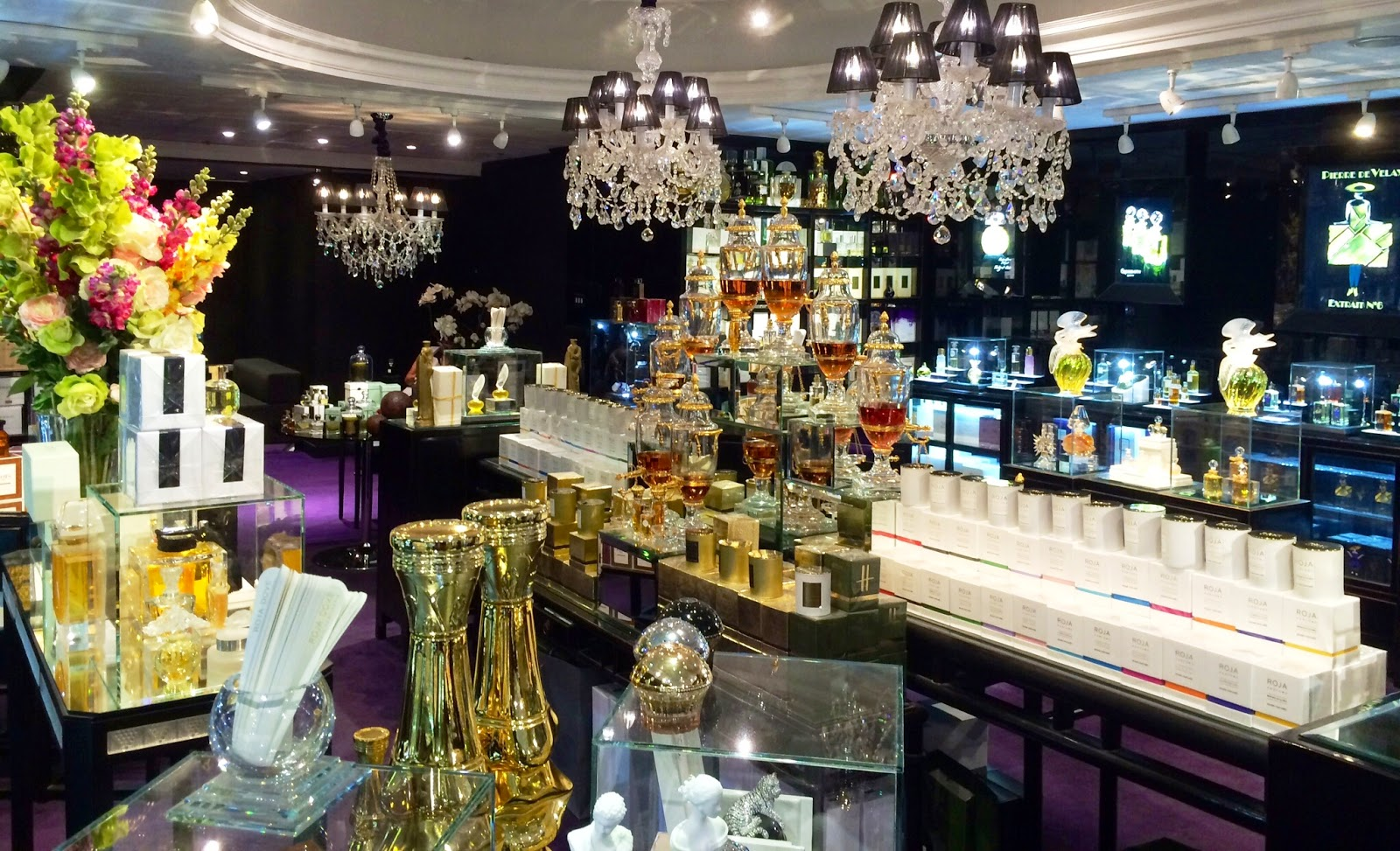 Persolaise a perfume blog harrods unveil the salon de for Salon parfum