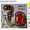 Foto dan Harga Batu Garnet Merah