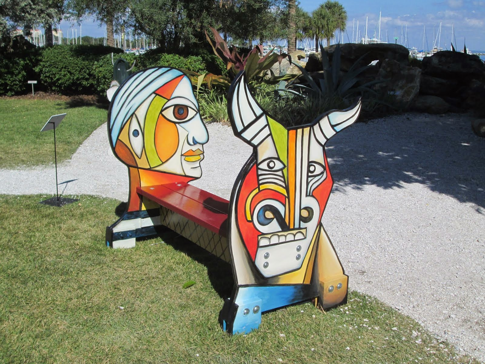 Picasso Bench at Dali