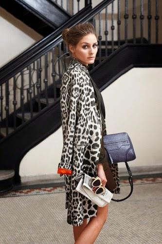 Cómo combinar un abrigo de animal print: Street Style