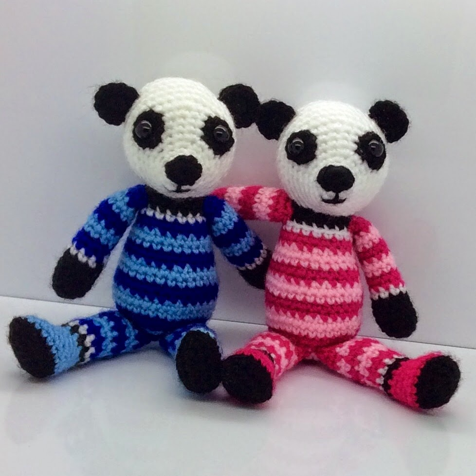 Lonemer Creations: Patch the Panda Free Pattern