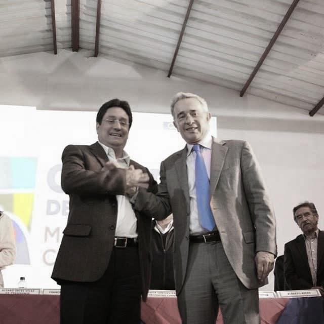 Francisco Santos Y Álvaro Uribe Vélez