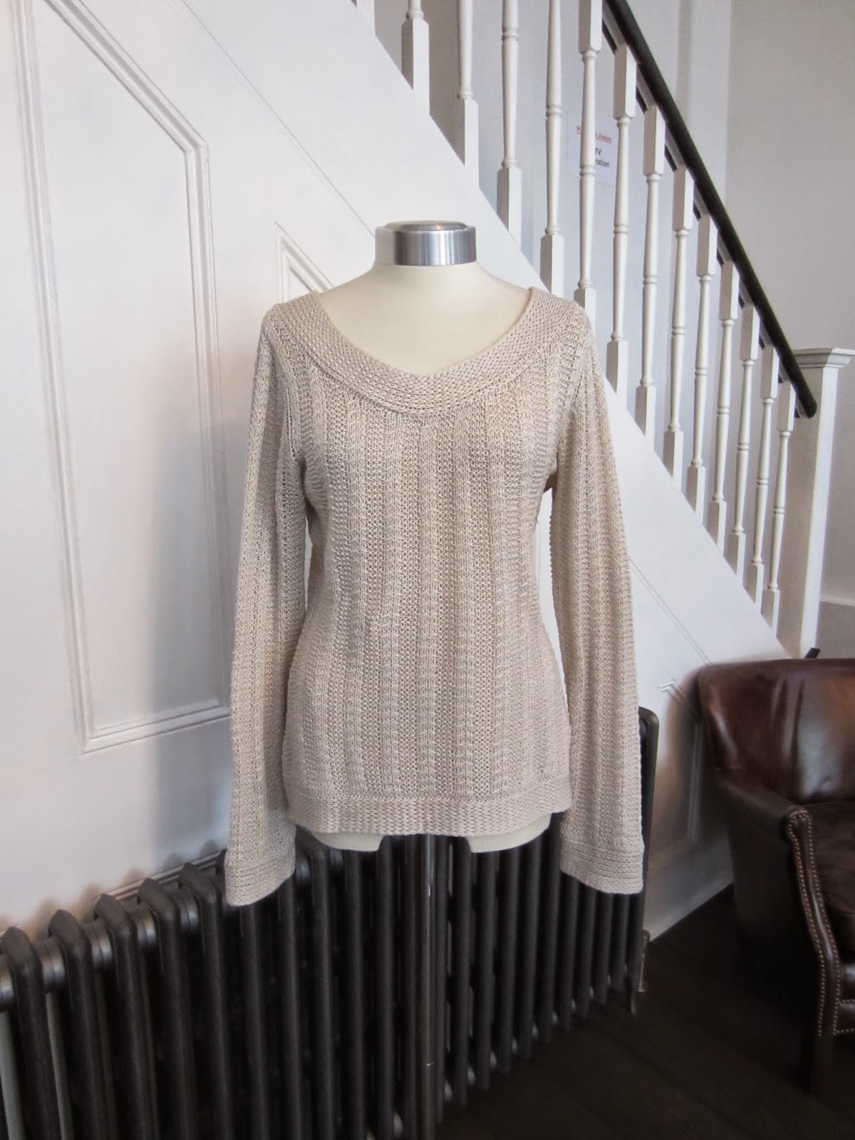 Twenty8Twelve Cream Cotton Knit