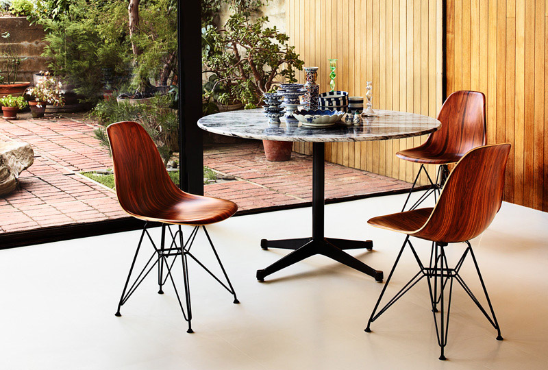 herman miller updates an eames classic with wood the new molded wood eames chair - Herman Miller Eames Chair