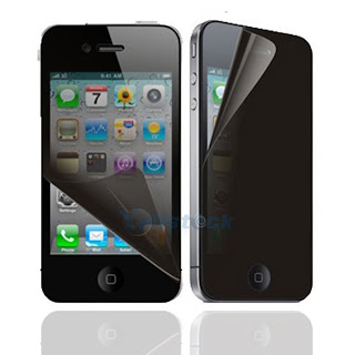 Privacy LCD Screen Protector for Apple iPhone 4 4G