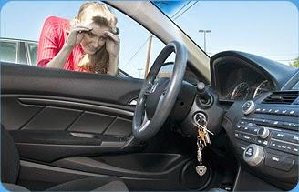 Llaves dentro de coche