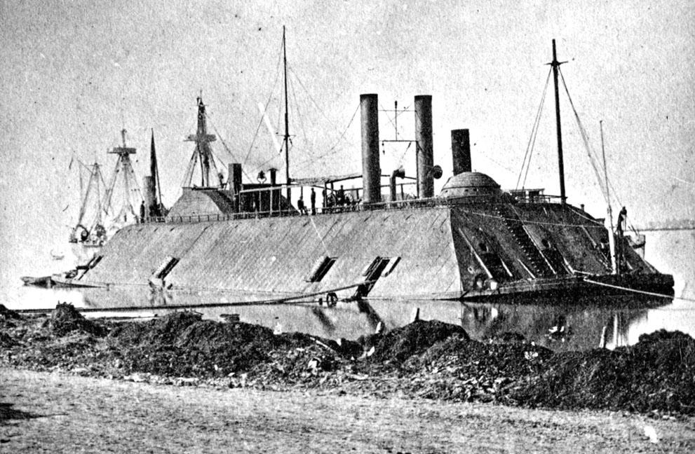 USS Essex en marzo de 1863