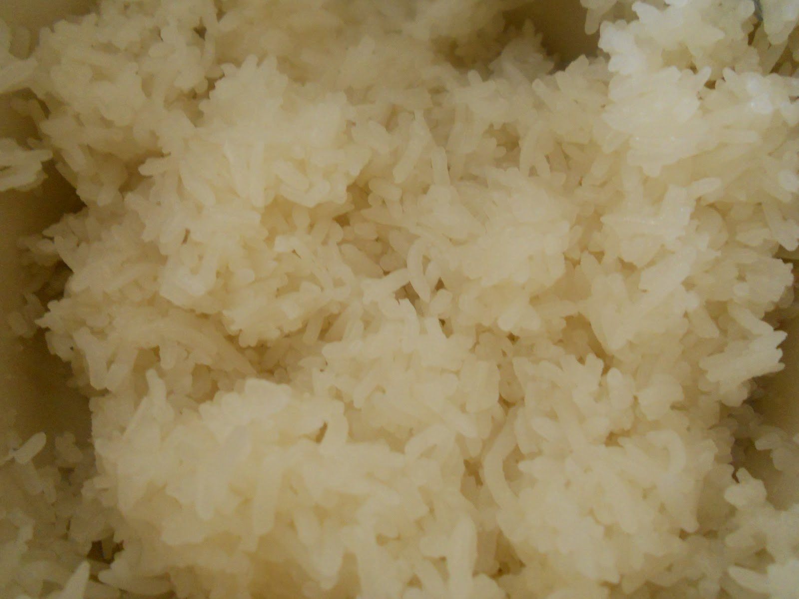 how to cook rice so not sticky