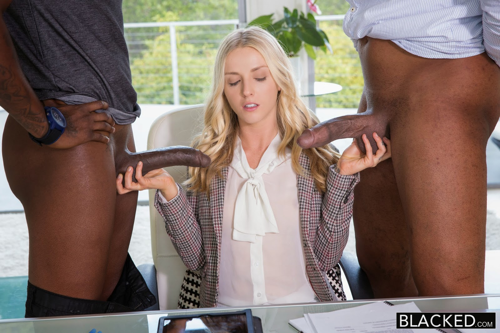 image Blacked natasha white threesome with two monster dicks