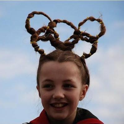 olympic hair style