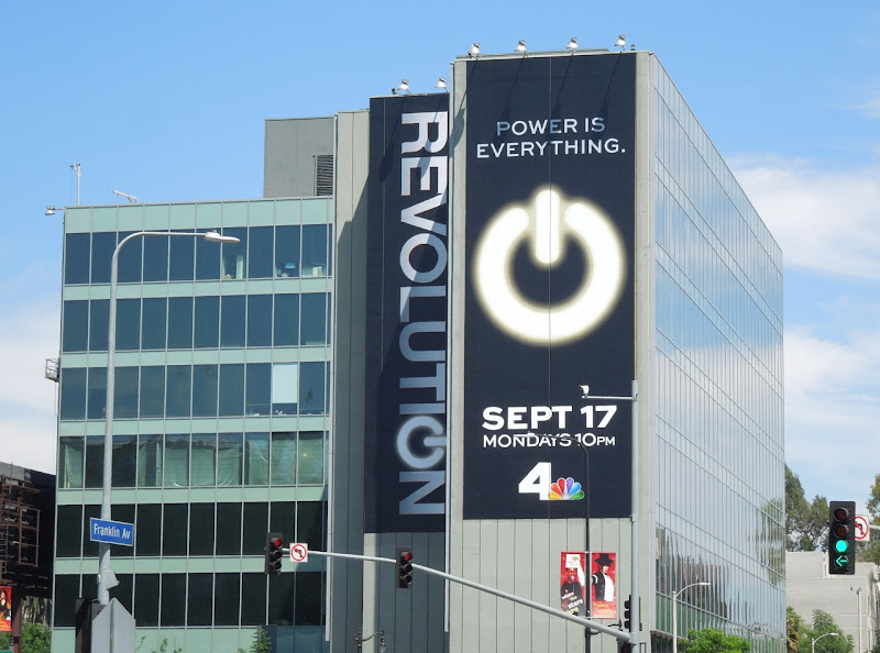 Giant Revolution NBC billboard Highland Avenue