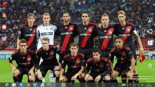 Bayer 04 Leverkusen Theme For Windows 7 And 8