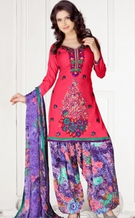 Best Patiala Dresses 2014