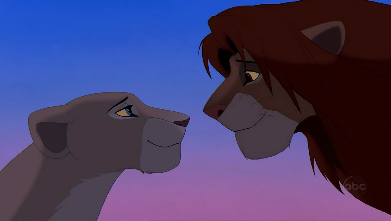 Simba And Nala Can You Feel The Love Tonight