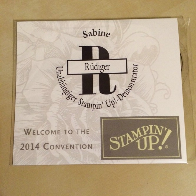 Stampin Up Convention 2014