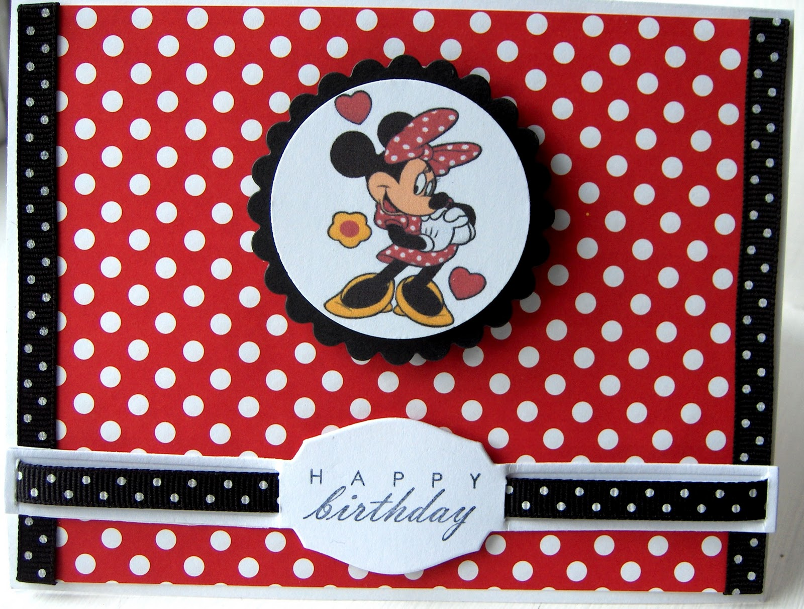 "Crafty ""Magra"" Minnie Mouse Birthday"