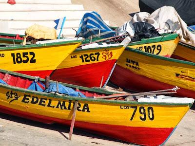 Puerto pesquero de Los Vilos