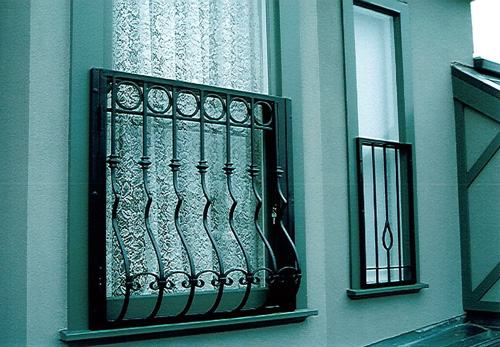 New home designs latest home window iron grill designs for Window design for house