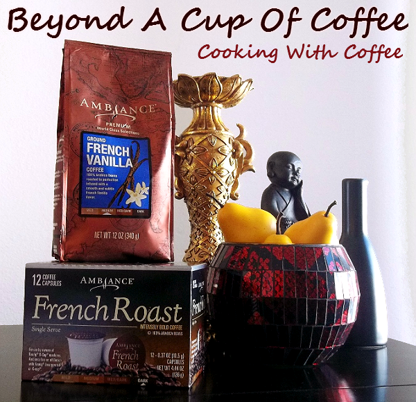 Cooking With Coffee #ChooseSmart #cbias #shop