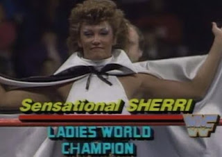 WWF SURVIVOR SERIES 1987 -  SENSATIONAL SHERRI